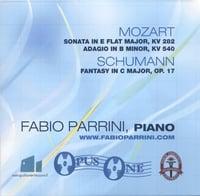 Fabio Parrini: Mozart, Schumann