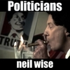 Neil Wise: Politicians