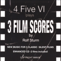 4 Five VI | 3 Film Scores By Rolf Sturm