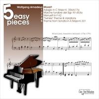 5 Easy Pieces Mozart 5 Easy Pieces For Piano