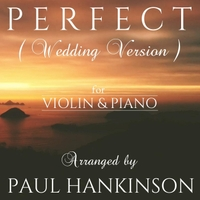 Paul Hankinson   Perfect (Wedding Version)   CD Baby Music Store