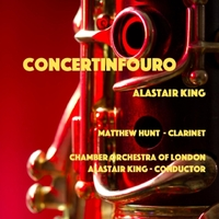 Alastair King, Chamber Orchestra of London & Matthew Hunt | Concertinfouro