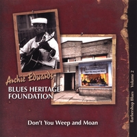 Various Artists | Barbershop Blues, Vol. 2: Don't You Weep and Moan (Archie Edwards Blues Heritage Foundation Presents)