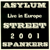 Cubierta del álbum de Live in Europe 2001