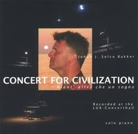 Johan J. Solco Bakker / solo piano | Concert for Civilization