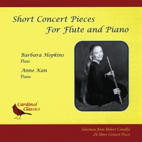 Barbara Hopkins | Short Concert Pieces for Flute and Piano