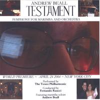 Andrew Beall | TESTAMENT: Symphony for Marimba and Orchestra