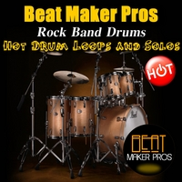 Beat Maker Pros | Rock Band Drums (Hot Drum Loops and Solos