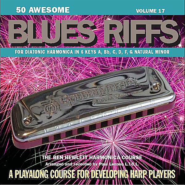 Ben Hewlett & Paul Lennon | 50 Awesome Blues Riffs | CD Baby Music Store