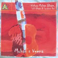 Skivomslag för Mohan's Veena