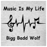 Bigg Badd Wolf Music Is My Life Cd Baby Music Store