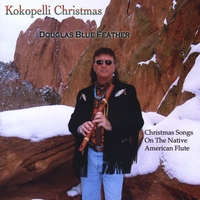 Douglas Blue Feather | Kokopelli Christmas