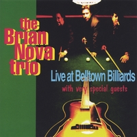 Brian Nova | Live at Belltown Billiards