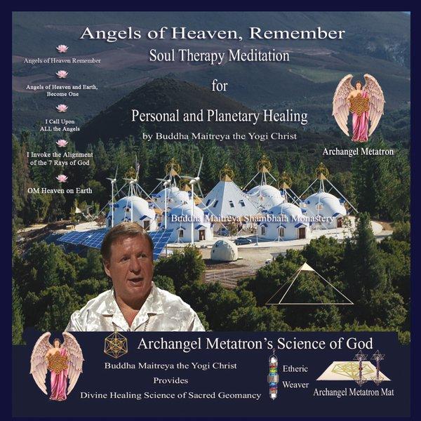 Buddha Maitreya the Yogi Christ | Angels of Heaven, Remember
