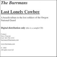 The Burrmans | Lost Lonely Cowboy