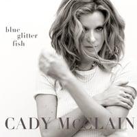 Cady McClain: blue glitter fish