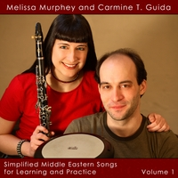 Melissa Murphey and Carmine T. Guida | Simplified Middle Eastern Songs for Learning and Practice Volume 1