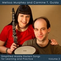 Melissa Murphey and Carmine T. Guida | Simplified Middle Eastern Songs for Learning and Practice Volume 2