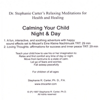 Stephanie R Carter, Ph.D. | Calming Your Child, Night & Day
