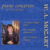Jiri Tomasek,  The Stern Orchestra & Christiane ENgel | Mozart Piano Concertos: Piano Concerto No. 16 in D major, KV 451; Piano Concerto No. 18 in B flat major, KV 456