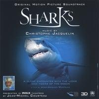 Carátula de SHARKS - Original Motion Picture Soundtrack IMAX
