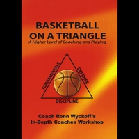 Coach Ronn Wyckoff | Basketball On a Triangle: a Higher Level of Coaching and Playing (Paperback Book Only)