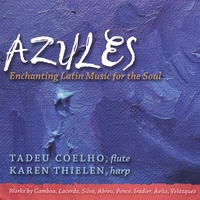 Tadeu Coelho & Karen Thielen | Azules - Enchanting Latin Music For The Soul