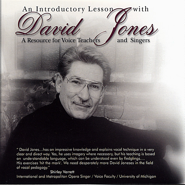 David Jones | An Introductory Lesson With David Jones: A Resource