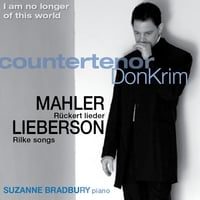 Don Krim, countertenor||Suzanne Bradbury, Piano | I am no longer of this world