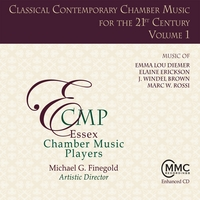 Essex Chamber Music Players | Classical Contemporary Chamber Music for the 21st Century, Volume 1