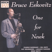Bruce Eskovitz Jazz Orchestra | One for Newk