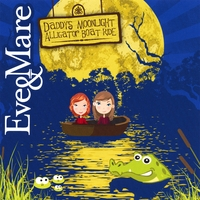 Eve & Mare | Daddy's Moonlight Alligator Boat Ride