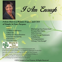 Felicia Shaw | I Am Enough
