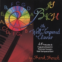 Frank French | The Well-Tempered Clavier