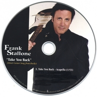 Frank Stallone (Signed Copy) | Rocky Balboa - Take You Back (Street Corner Song )
