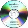 GEE DAVEY: Dear Theo