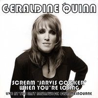 Geraldine Quinn | Scream 'Jarvis Cocker' When You're Losing