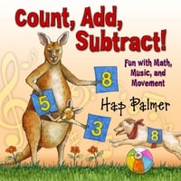 Hap Palmer | Count, Add, Subtract!  Fun With Math, Music, And Movement