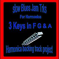 Harmonica Backing Track Project   Slow Blues Jam Trks for Harmonica