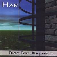 Album cover: Dream Tower Blurprints