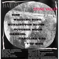 Hat On a Bed:           Stone Valley