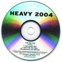 Skivomslag för Heavy 2004