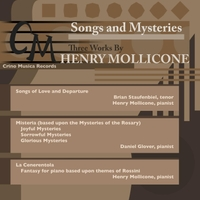 Henry Mollicone, Brian Staufenbiel & Daniel Glover | Songs and Mysteries