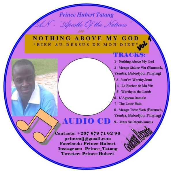 A N  | Nothing Above My God | CD Baby Music Store