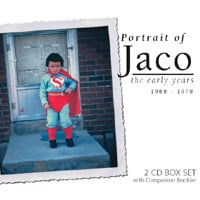 "Featured recording ""Potrait of Jaco the Early Years"""