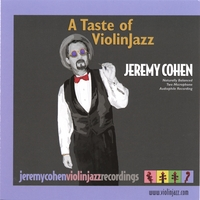 Jeremy Cohen | A Taste of Violinjazz