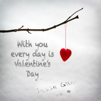 Jesse Giles | With You Every Day Is Valentine's Day