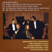 John Mitchell | Sheremetyev Ensemble - Mitchell in Moscow
