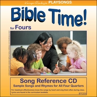 Karyn Henley | Playsongs Bible Time for Fours Song Reference CD
