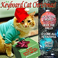 Keyboard Cat | It's A Keyboard Cat Christmas!